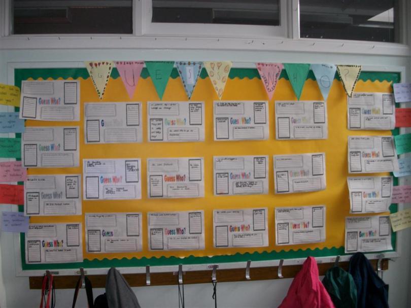 Class Display Autumn Term 2013